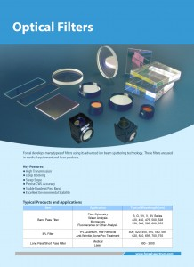 Optical Filter Catalog