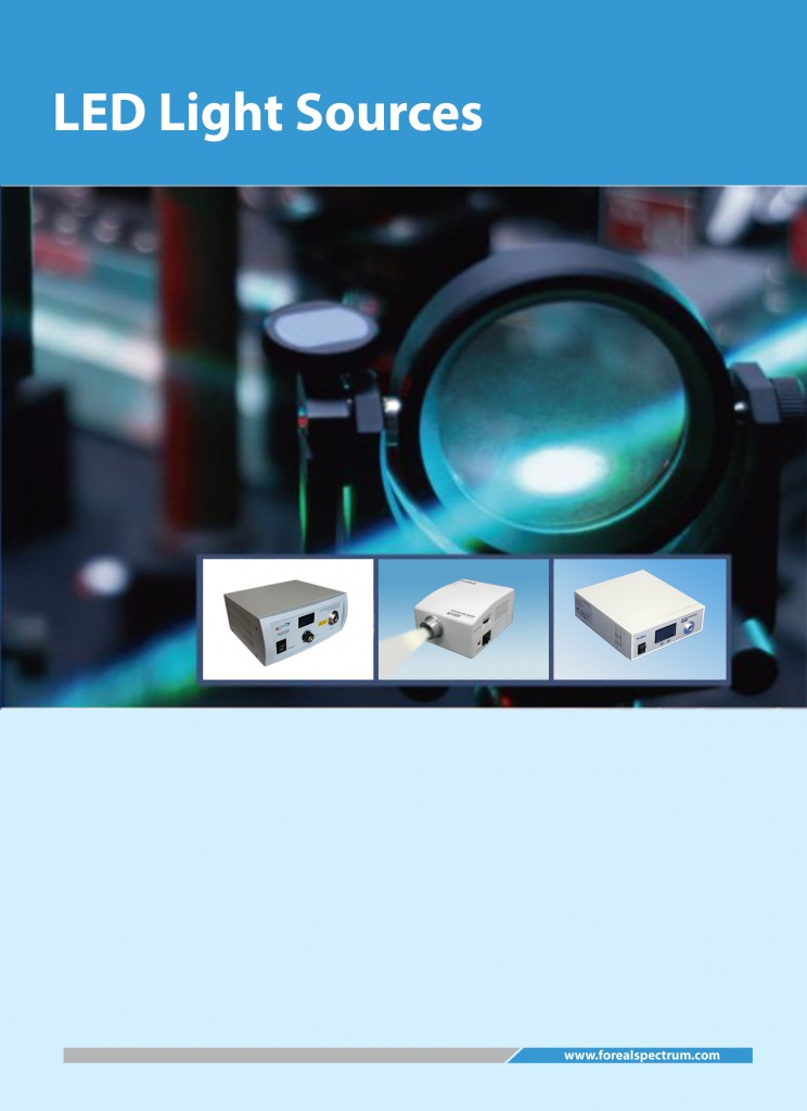 LED Light Source Catalog Cover